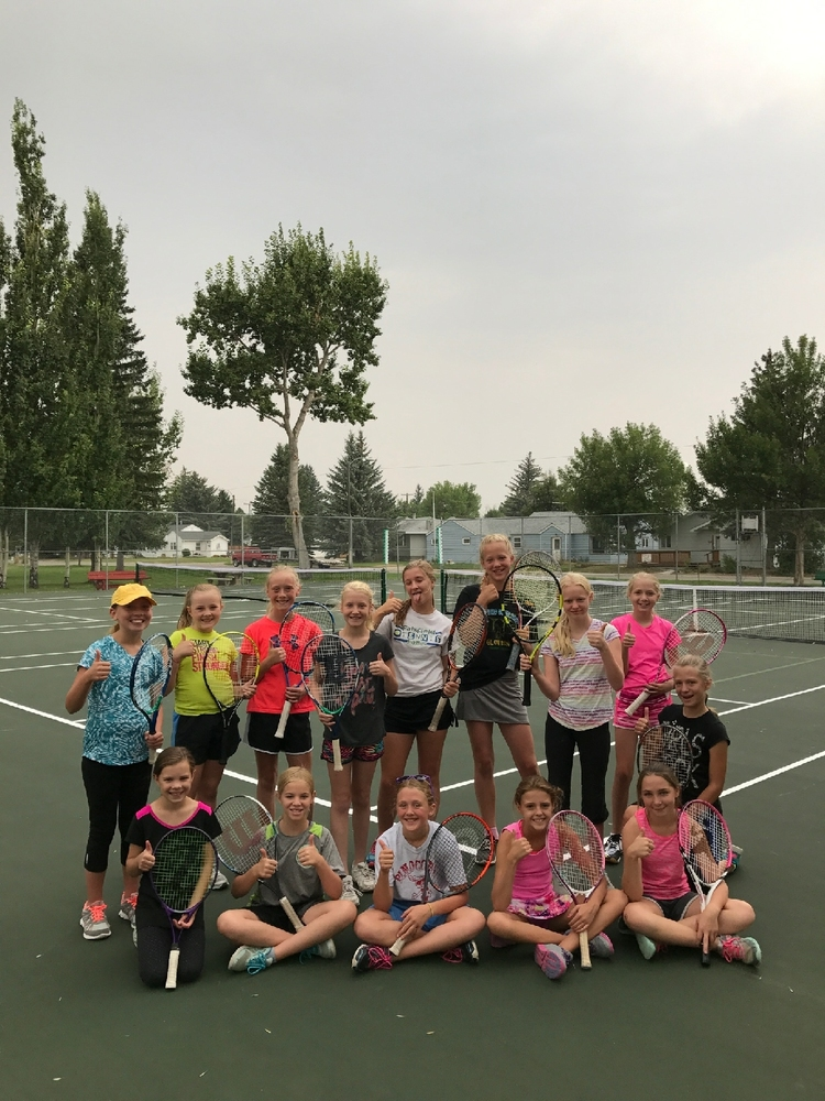 Tennis practice changed...